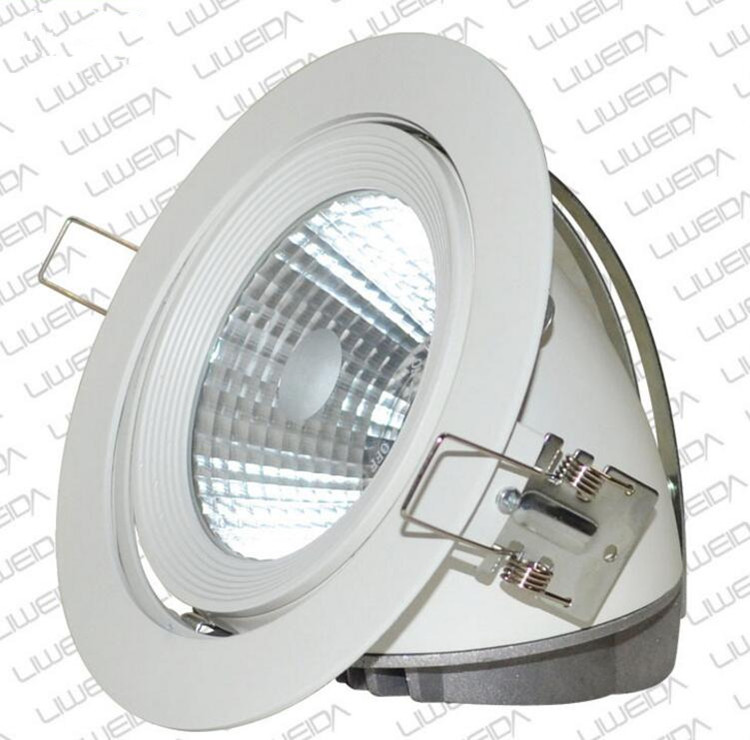 Besplatna dostava 30W okrugla COB osvijetljena svjetlost sa - Unutarnja rasvjeta - Foto 2