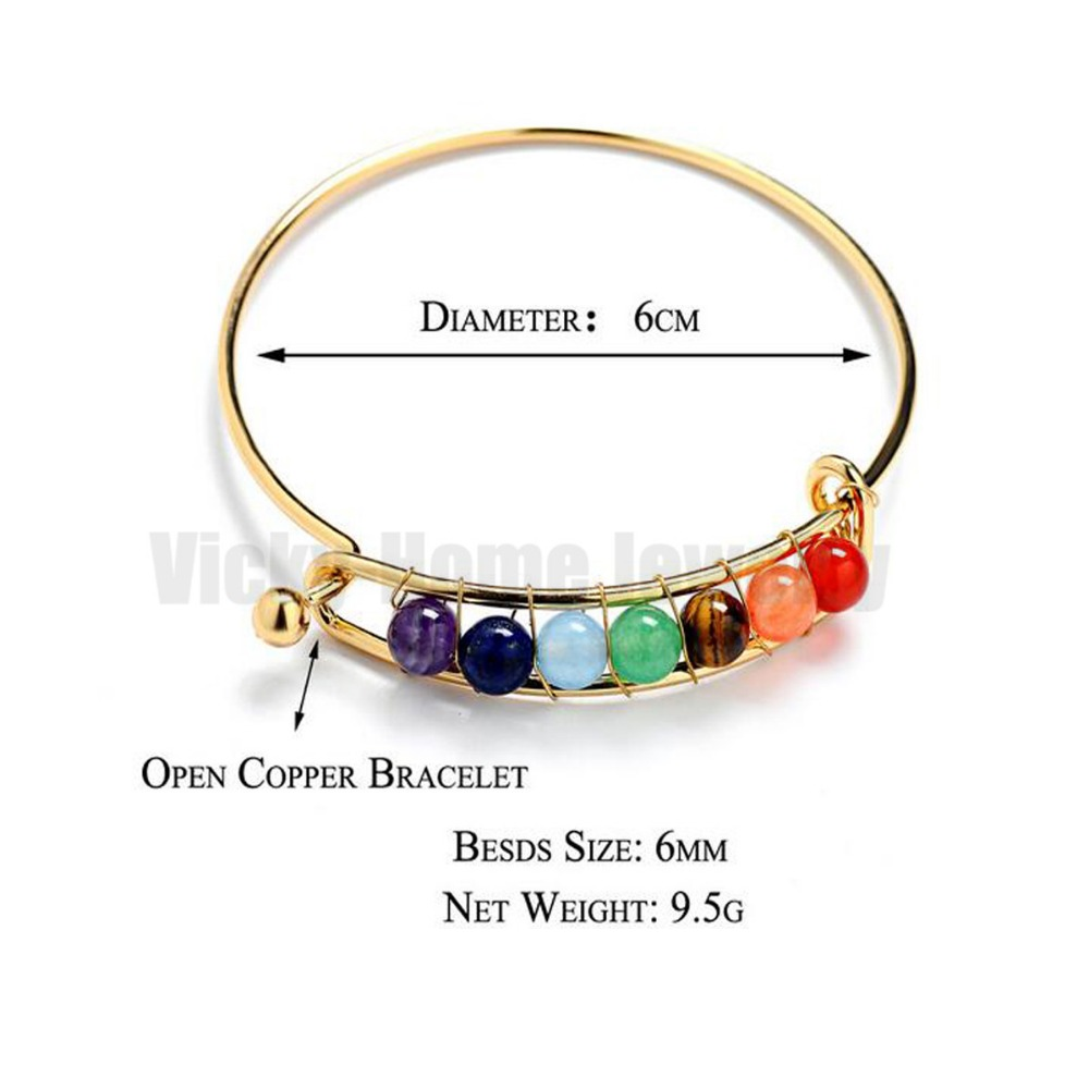 BC012-3 Chakra Bracelets