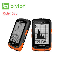 Bryton Rider 530T GPS Bicycle Bike Cycling Computer & Extension Mount ANT+ Speed Cadence Dual Sensor Heart Rate Monitor R530