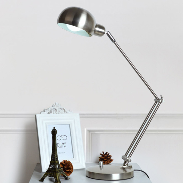 Pixar American long arm folding metal photographic eye study led lamp computer desk reading Night Light Reading Le