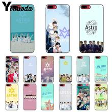 Yinuoda KPOP ASTRO Heart shaped K-POP Soft Silicone black Phone Case for iPhone 5 5Sx 6 7 7plus 8 8Plus X XS MAX XR(China)