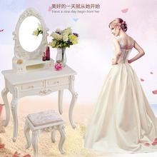 В европейском стиле туалетный столик спальня современный простой макияж настольная лампа небольшой семьи более чем 50/60/70/80 мини стол для макияжа
