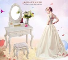 European-style dressing table bedroom modern simple makeup desk small family more than 50/60/70/80 mini table.