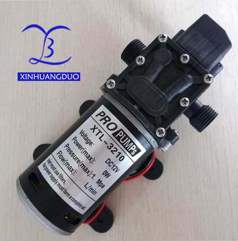 Pompe à eau à haute pression de 80 W 3210YD 12 V/24 V pompe à diaphragme électrique Micro pompe à grande pression auto-amorçante de grand débit 1.0MPa