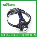 2000LM XM-L T6 LED Zoomable Farol 3 Modos 18650 Bicicleta Cabeça de Bicicleta Lanterna Luz Acampamento Ao Ar Livre Em Busca Da Lâmpada 7025