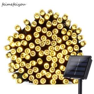 Feimefeiyou 22m 200led Solar L