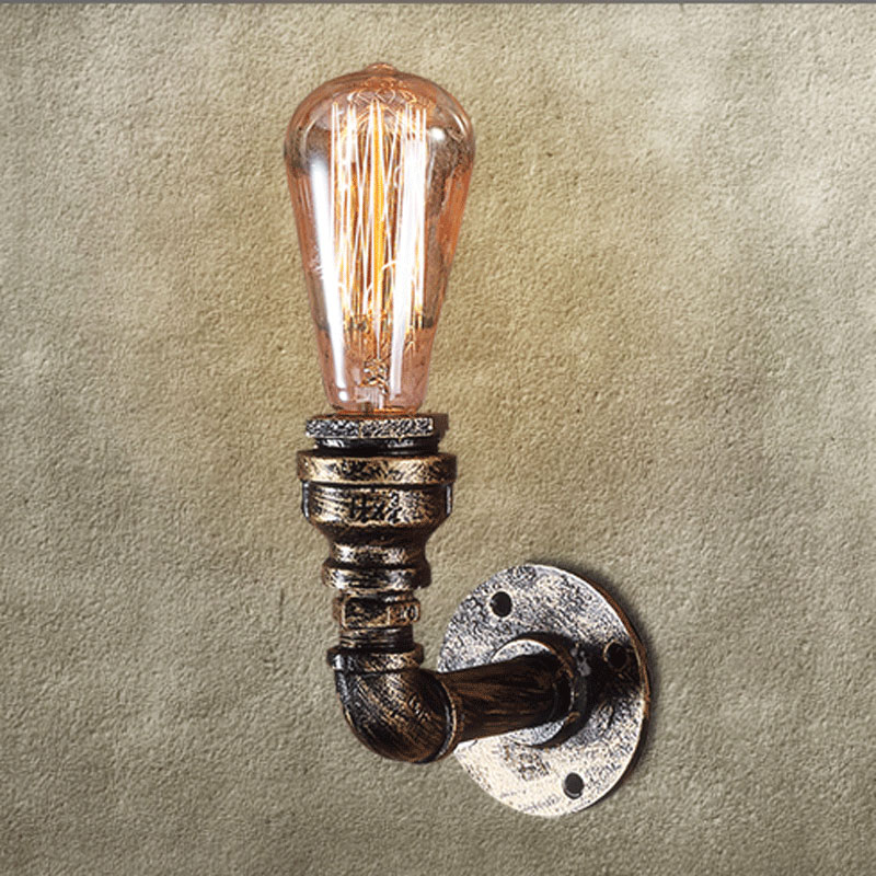 ФОТО vintage wall lamp e27 220v for decor retro sconces wall light industrial sconce wall lights indoor lighting Edison bulb