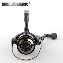 SEASHARK CM1000-6000 5BB spinning fishing reel Copper Gear lever metal spool cup Fishing Wheel Gear for Carp Fishing
