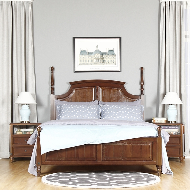 Napa bedroom furniture collection napa wood storage sleigh bed in cherry humble abode bai lamu for Napa valley bedroom furniture