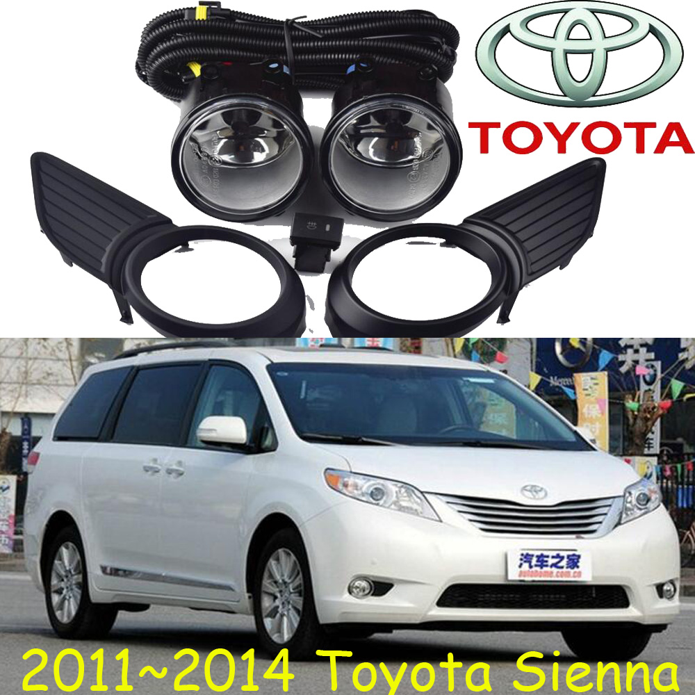 2011~2014 Sienna fog light,Free ship!halogen,Sienna headlight,camry,Hiace,tundra,hilux,yaris;Sienna day lamp roomble dc sienna