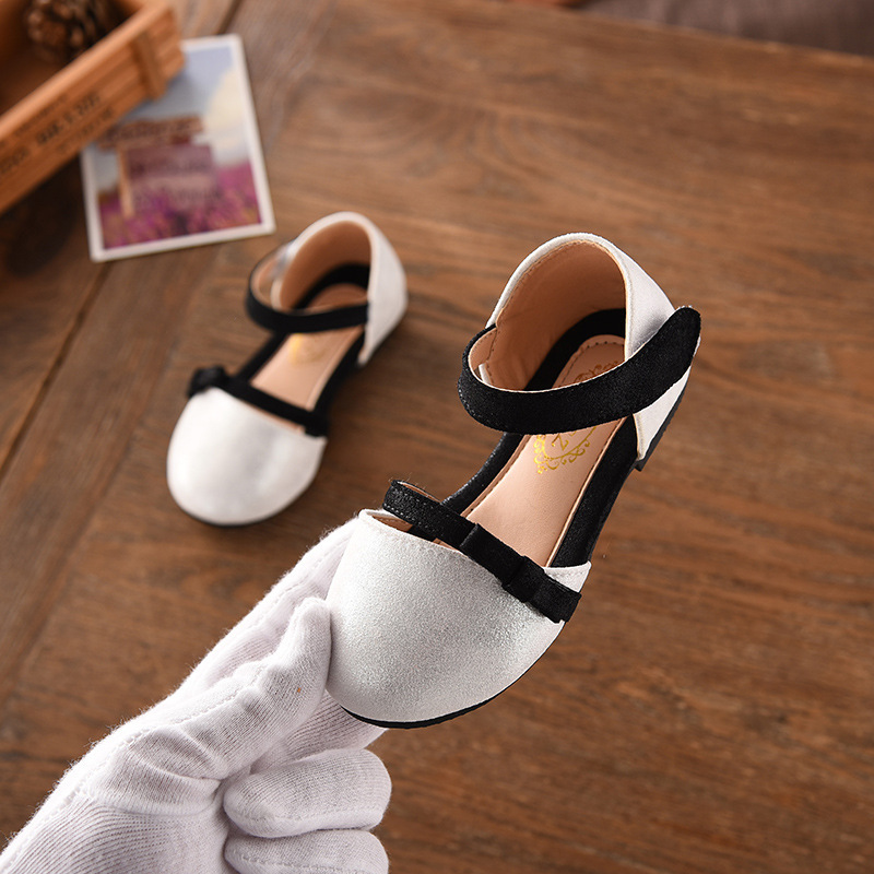 2018 summer new girls bow princess shoes girls sandals kids casual shoes baby shoes shoes