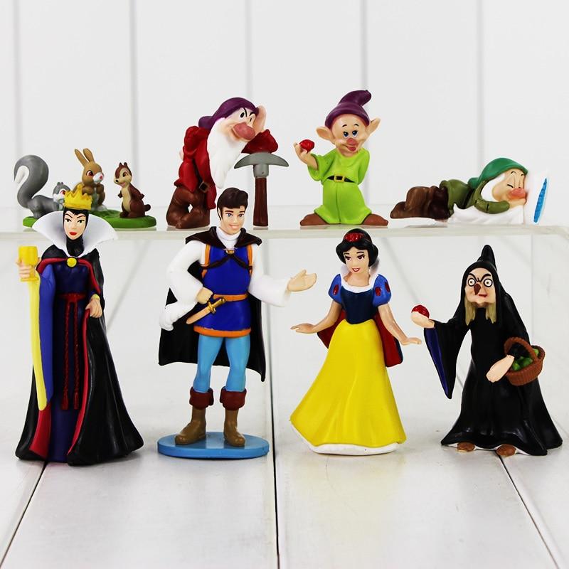 Prince-Queen Model-Toy Action-Figure Collectible Les PVC No Nains Et Snow-White Sept