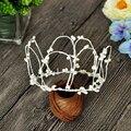 Шикарный regal небольшой ручной белые стволы белый pip ягоды цветок корона, люкс для оголовье, девушки цветка корона, может настроить