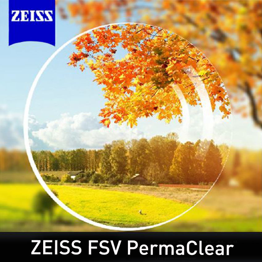ZEISS FSV Perma Clear Lenses 1.56 1.61 1.67 1.74 High Index Transparent Optical Lenses Prescription Recipe Needed 2 Pieces