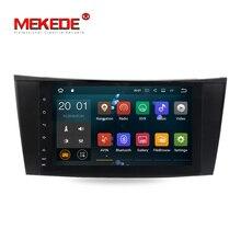 Четырехъядерный android полный сенсорный экран радио Автомобильный gps dvd-плеер для Mercedes Benz/e-класс/W211/E200/E220/E300/E350
