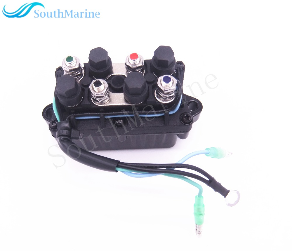 6H1-81950-00-00 6H1-81950-01-00 Boat Power Trim and Tilt Relay Assy for Yamaha 30 - 90hp Outboard Engine