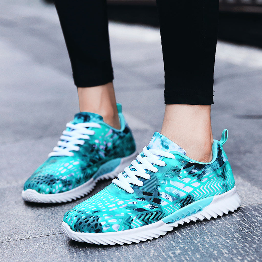Couple Mesh Breathable Low-Top Sneakers Shoes tenis feminino casual Lightweight espadrilles Non-Slip Running shoes woman sneaker(China)