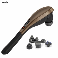 Cordless Electric Percussion Full Body Massage Rechargeable Hand Held Deep Tissue Massager for Muscles Back Foot Should Relief