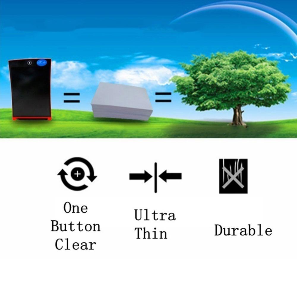 Tableta de escritura LCD 12 pulgadas dibujo Digital 5