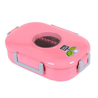 Japanese Stainless Steel Lunchbox Bento Box Thermal Lunch Boxs Sealed Containers with Compartment Durable Food Container