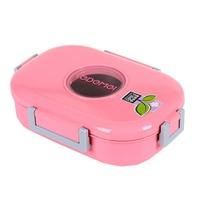 Không Gỉ nhật bản Thép Lunchbox Bento Box Ăn Trưa Nhiệt Boxs Hộp Kín với Khoang Bền Container Thực Phẩm
