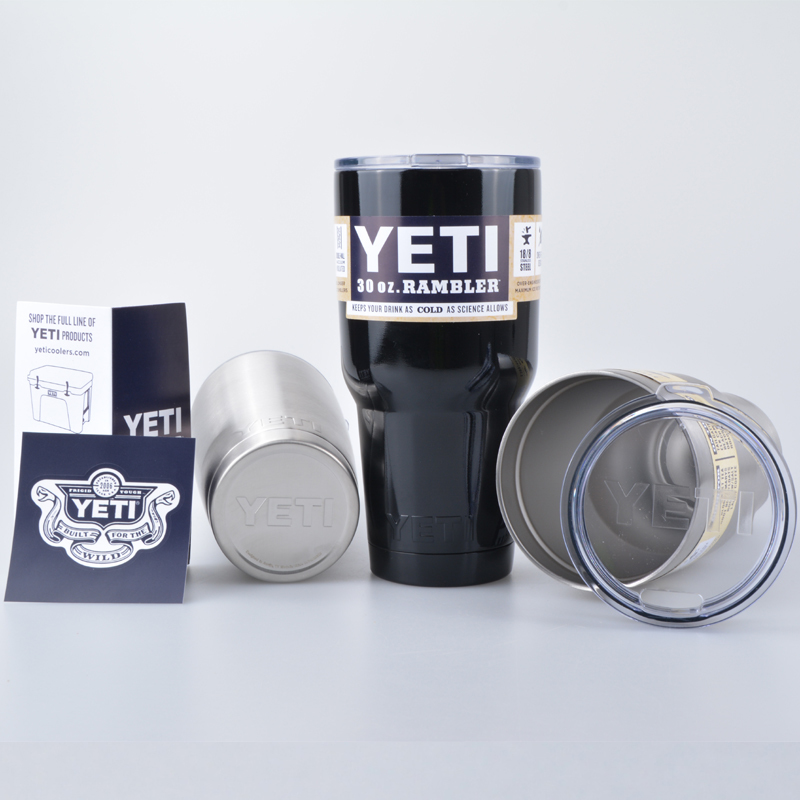 10pcs 20oz/30oz <font><b>Yeti</b></font> <font><b>Rambler</b></font> <font><b>Tumbler</b></font> <font><b>Cooler</b></font> <font><b>Cup</b></font> Vacuum Insulated Powder Coated Vehicle Beer Mug <font><b>Cups</b></font> <font><b>Pink</b></font> Blue Green Orange