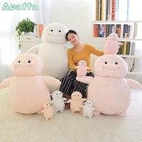Hot Sell 28cm/38cm Cute Fat Ji-Bang Cartoon Anime Character Plush Toys Kids Baby Sleeping Calm Stuffed Doll Children Girls Gifts