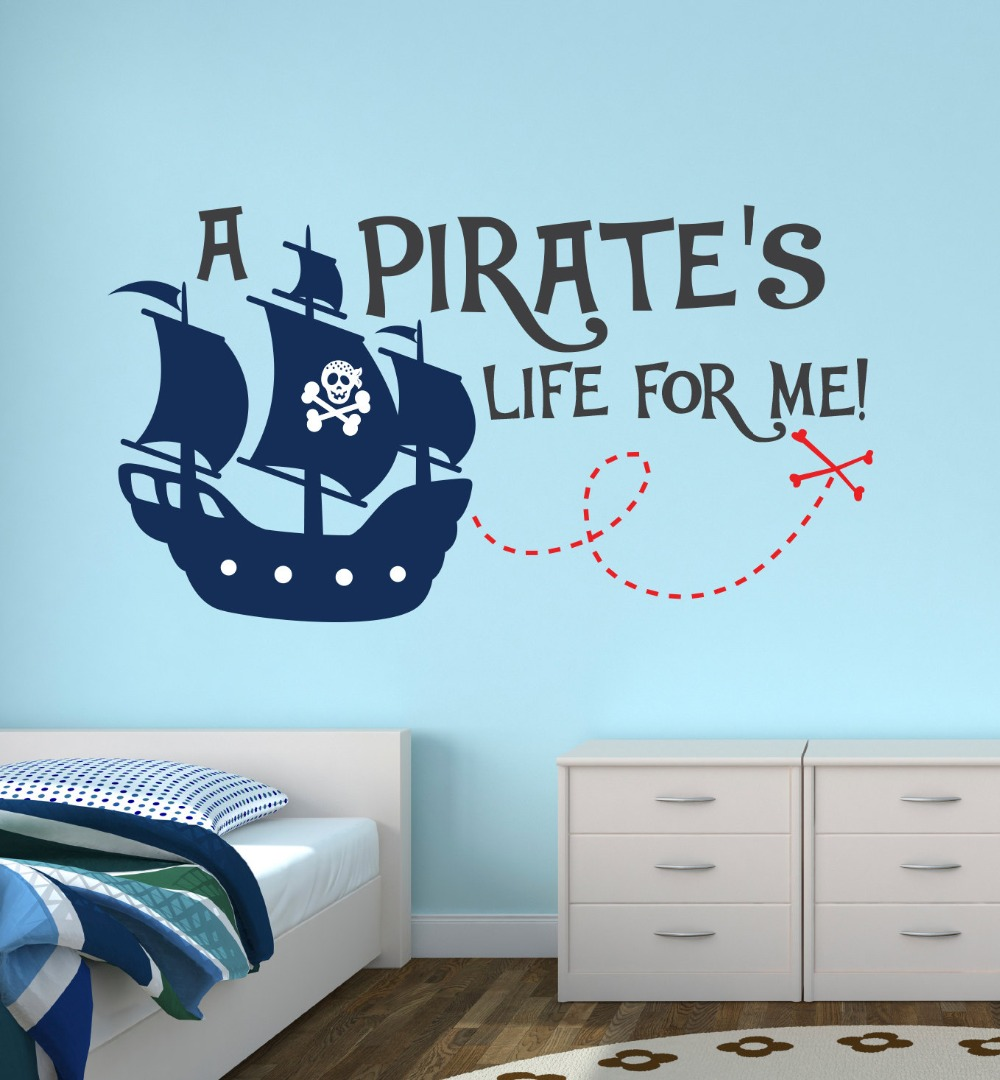 popular customize quotes buy cheap customize quotes lots from pirate life for me lovely quotes wall sticker custom boys name personalized wall sticker kids nursery