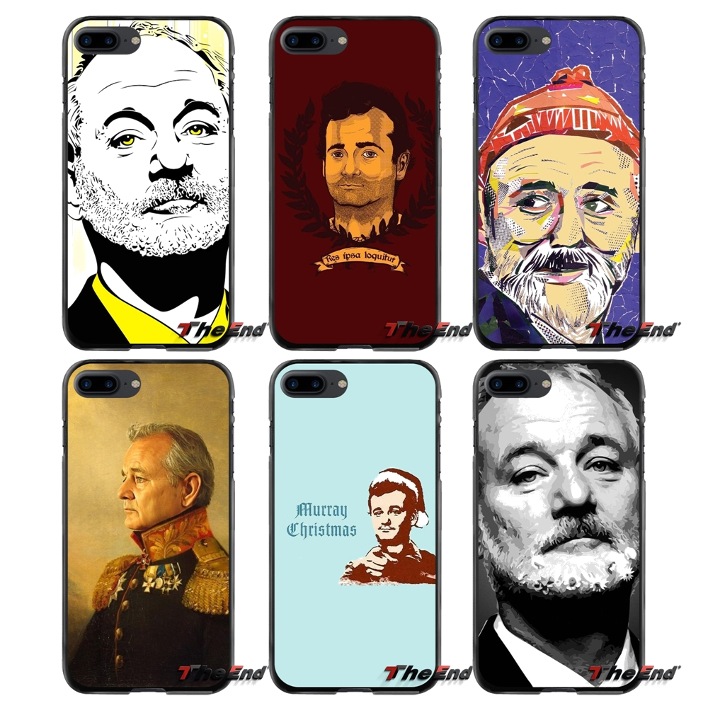 For Apple iPhone 4 4S 5 5S 5C SE 6 6S 7 8 Plus X iPod Touch 4 5 6 Accessories Phone Cases Covers famous actor Bill Murray