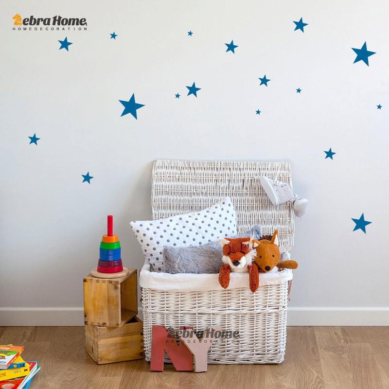 HTB1K0XmMpXXXXXHaXXXq6xXFXXXR - Custom Color Stars Wall Sticker DIY For Kids Rooms