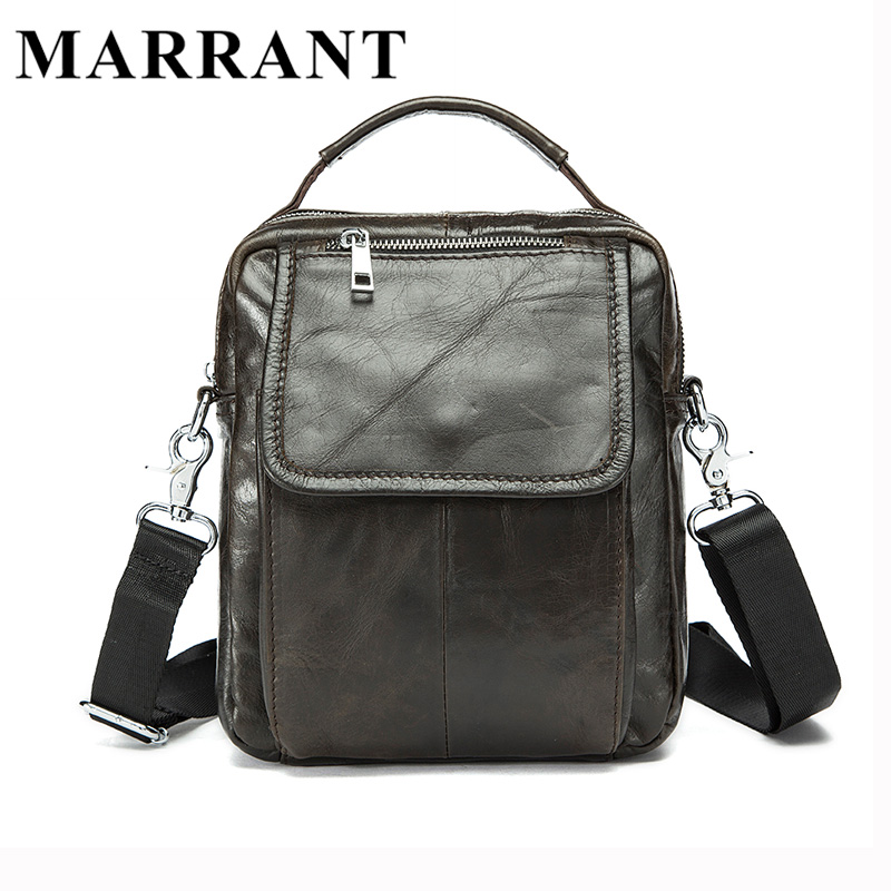Marrant Genuine Leather Crossbody Bag Small Men Bags First