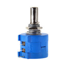 Free Shipping 3590S-2-201L 3590S 200 ohm Precision Multiturn Potentiometer 10 Ring Adjustable Resistor