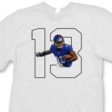Odell Beckham Jr.  13 T-shirt jersey NY Giants Rookie Wide Reciever Tee 10d92d925