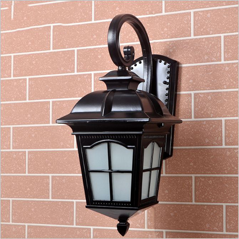 Lights & Lighting Led Outdoor Wall Lamps Mlzaosn Flower Basket Old Copper Wall Lamp European Outdoor Garden Led Corn Bulbs Balcony Waterproof Courtyard Stairs Wall Lamp Cheapest Price From Our Site