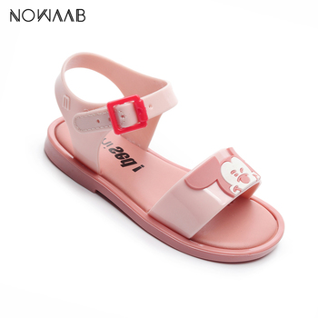 Mini Melissa 2019 New Kids Cartoon Sandals Girls Shoes Girl Beach Breathable Children