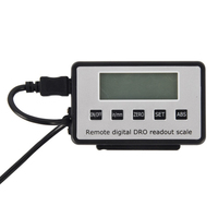 0 150/300mm Portable Durable Ruler Scale Led Accurate Remote Instruments Linear Tool Digital Readout For Milling Lathe Measuring