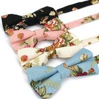 Men Vintage Floral Bowtie Wedding Party Adjustable Tuxedo Bow Tie Necktie  BWTYF0102