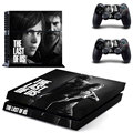 Vinly Skin Sticker of The Last of US Colorskin Sticker For Sony Playstation 4 Console + 2 Controllers Vinyl Decal