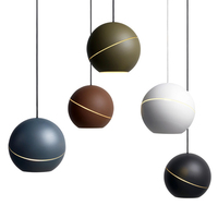 Nordic Bedroom Pendant Lights Personality Ball Pendant Lamps Modern Minimalist Dining Room Single Head led Small Hanging Lamps