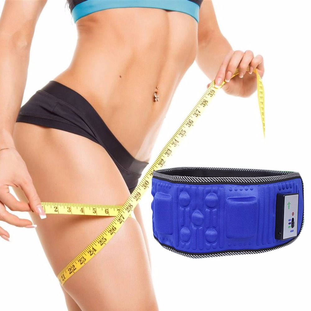 Wireless Electric Fitness Vibrating Slimming Belt Shaking Machine Slimming Device Vibration Fat Burning Artifact new vibration type pneumatic sanding machine rectangle grinding machine sand vibration machine polishing machine 70x100mm