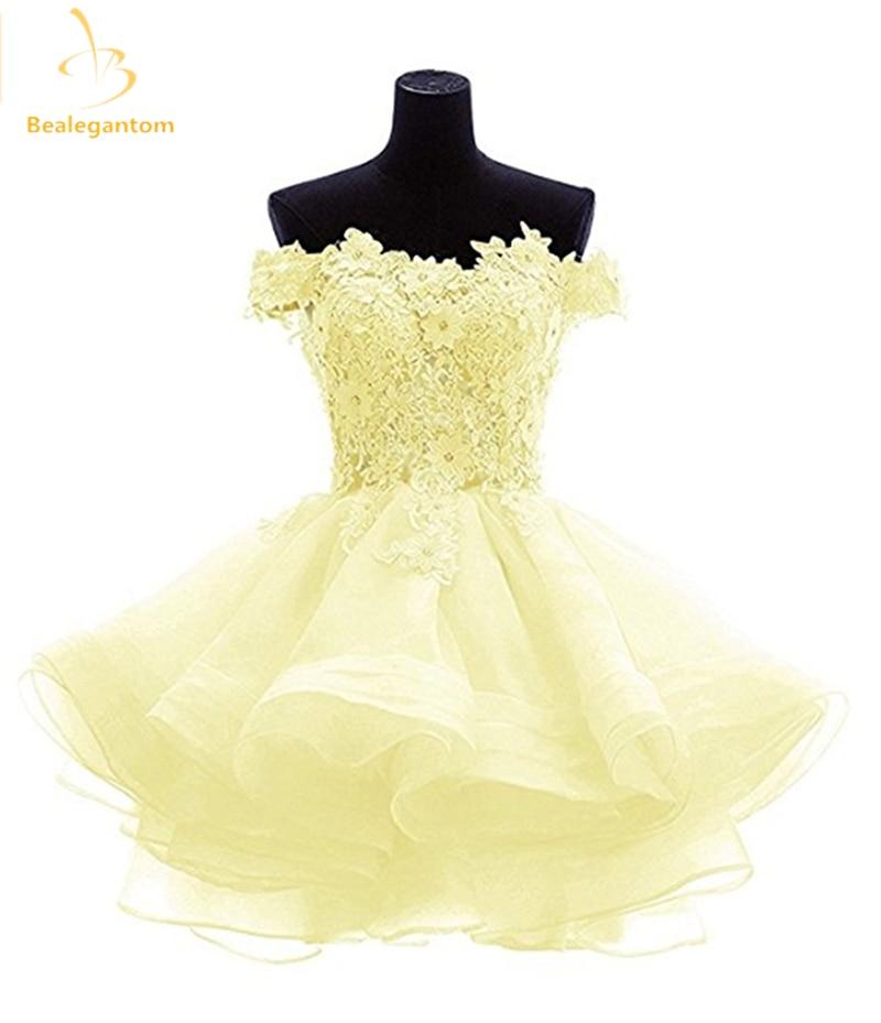 Bealegantom Nya Mini A-Line Korta Homecoming Klänningar 2017 Med - Särskilda tillfällen klänningar - Foto 3