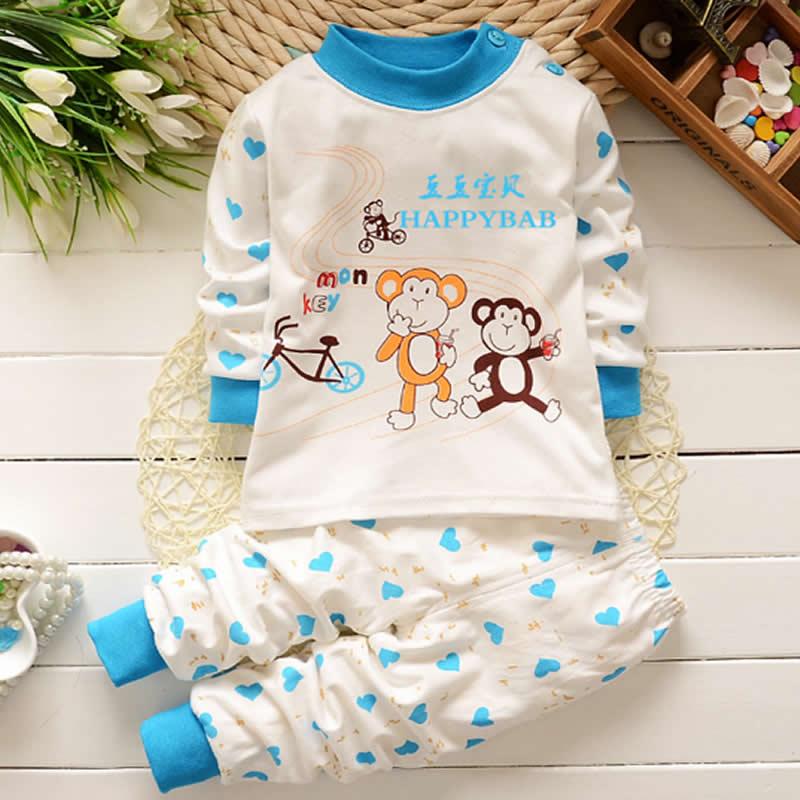 Baby Pyjama Girls Sleeperwear New Children Autumn Clothing full Sleeper Baby Underwear Toddler Cotton Infantil Sleeperwear