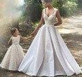 Vestidos de casamento vestido de tiras Speghetti família vestido de novia 2016 Designer vestidos de casamento China fábrica