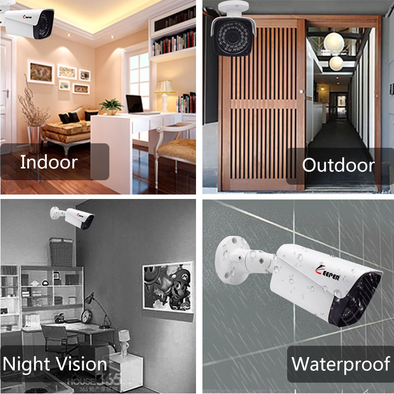 Keeper Sony IMX323 1080P Waterproof IP66 AHD CCTV Camera 2.0 Mega Pixel Security Camera IR Surveillance Camera
