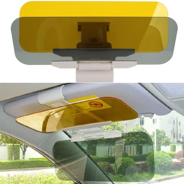 Car Sun Visor Anti-Glare Goggle 2 in 1 Auto Day Night Vision Goggles Mirror  Sun Visors Goggle Sunshade Mirrors 269e294bdab