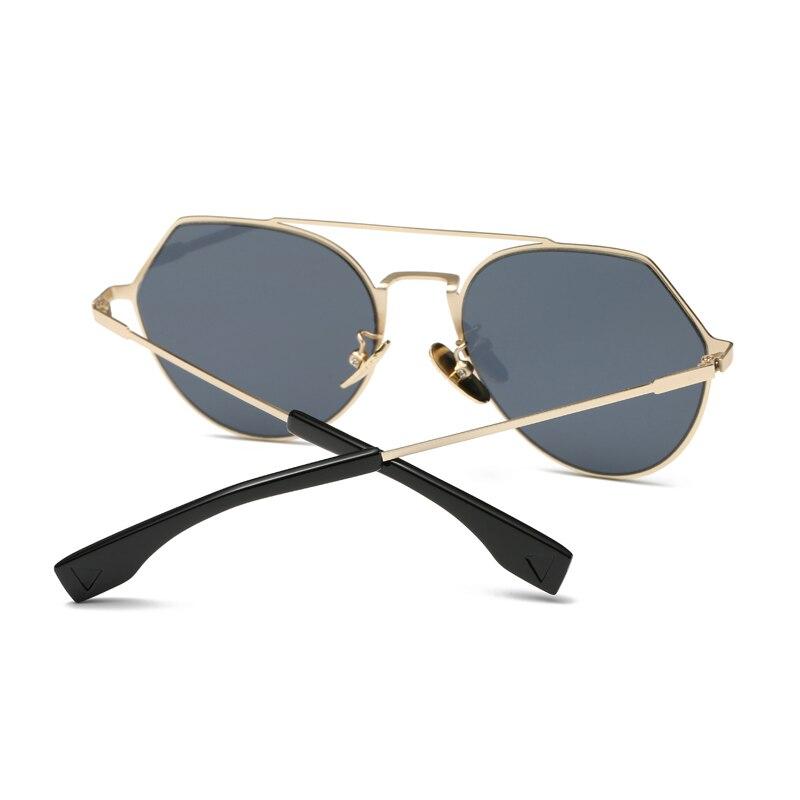 Klassische Sonnenbrille Frauen Marke Designer Pilot Weibliche ...
