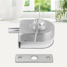 Stainless Steel Glass Door Lock Bolt Latch for Home Bathroom Accessories Hardware New Arrival