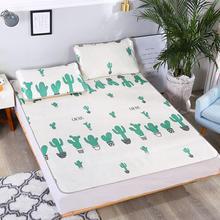 Складной Прохладный матрас может очистить охлаждающий коврик для сна домашняя спальня спальный коврик ледяной шелк кактус шаблон сиденья