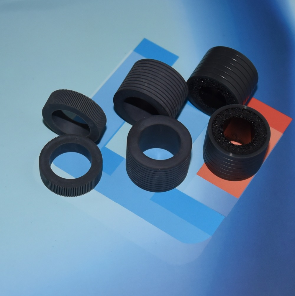 Grade A Free Shiping PA03575-K011 PA03575-K013 PA03575-K012 for fujitsu fi-6800 fi-6400 pick roller brake roller rubber pa03656 e958 pa03656 e976 for fujitsu ix500 pick roller and brake roller assy