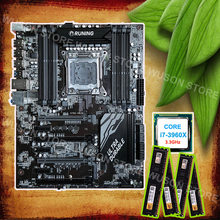 Brand Runing discount X79 LGA2011 motherboard with 8 RAM slots CPU Intel core i7 3960X 3.3GHz brand new memory 16G(4*4G) 1600MHz(China)